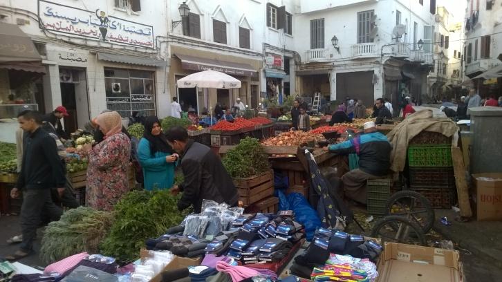 markets in Casablanca